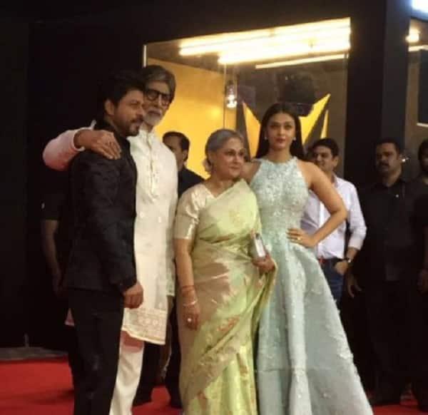 Shah Rukh Khan, Aishwarya Rai Bachchan, Amitabh Bachchan Stardust Awards