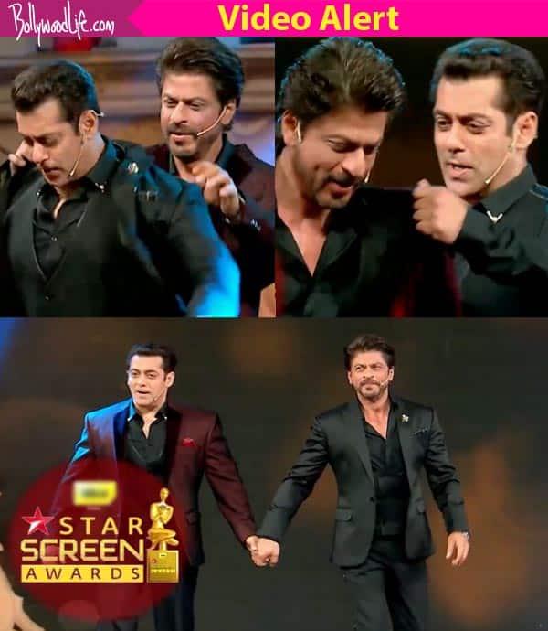 Star Screen Awards 2016: Shah Rukh Khan and Salman Khan's opening act involves singing Mustafa – watch video