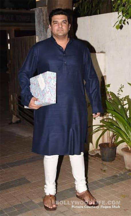 Siddharth Roy Kapur at Madhur Bhandarkar's housewarming party
