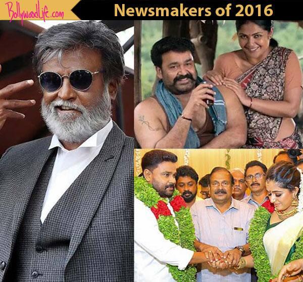 Here's what Dileep, Rajinikanth, Mohanlal did to grab headlines in 2016