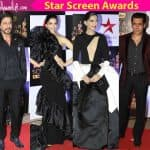 Star Screen Awards red carpet: Shah Rukh Khan and Salman Khan look dapper while Deepika Padukone, Sonam Kapoor disappoint!