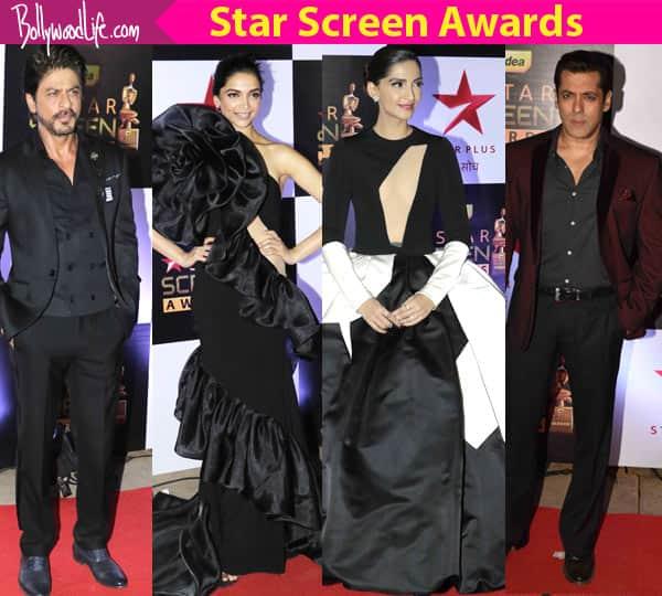 Star Screen Awards red carpet: Shah Rukh Khan and Salman Khan look dapper while Deepika Padukone, Sonam Kapoor disappoint!