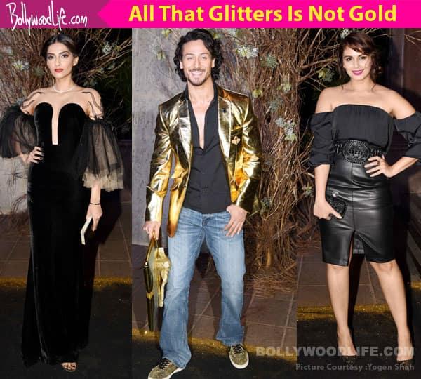 Sonam Kapoor, Kriti Sanon, Tiger Shroff – Take a look at fashion offenders at Manish Malhotra's 50th birthday bash
