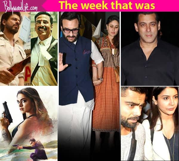 Virat Kohli – Anushka Sharma's engagement rumours, Salman Khan's birthday bash, Deepika Padukone's xXx preponed – meet the top 5 newsmakers of the week