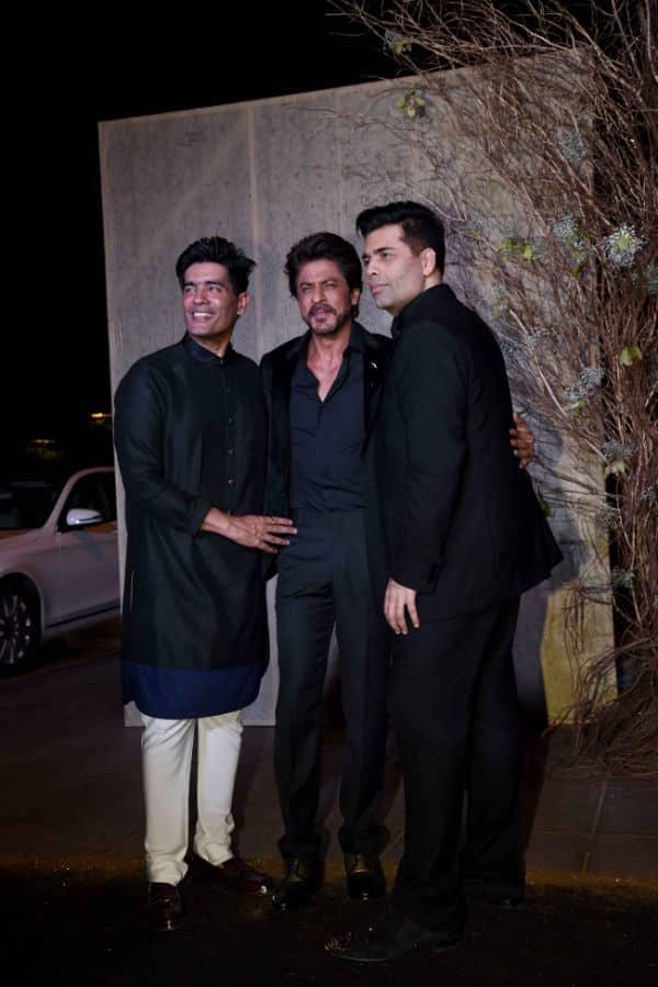 Shah Rukh Khan kept gold at minimum for Manish Malhotra's birthday bash – view HQ pics!