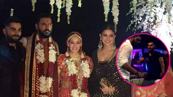 Virat Kohli's bhangra moves at Yuvraj Singh-Hazel Keech's wedding will make you hit the dance floor right now – watch video