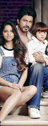 This family picture of Shah Rukh Khan shows he is the luckiest man alive