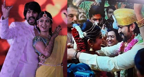 Yash and Radhika Pandit get married in a lavish ceremony – Watch INSIDE video