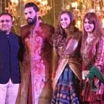 Yuvraj Singh and Hazel Keech's reception pictures are out and the couple is GLORIOUSLY too good looking