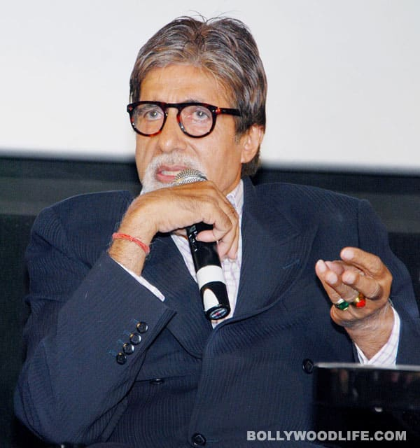 Amitabh Bachchan doesn't work to cause a revolution