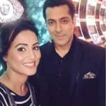 It's happening! Hina Khan shoots for Bigg Boss 10 episode with Salman Khan