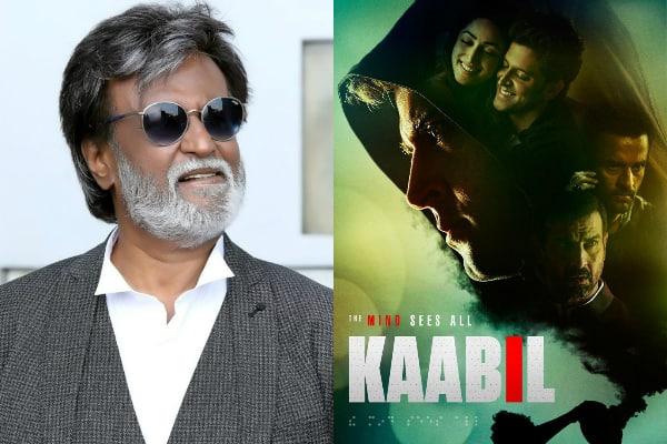 Rajinikanth has a sweet li'l message for Hrithik Roshan and team Kaabil