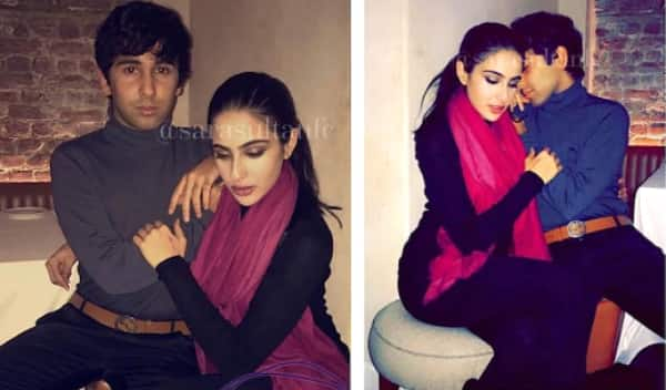 Who is this mystery guy getting so COSY with Sara Ali Khan? View pics