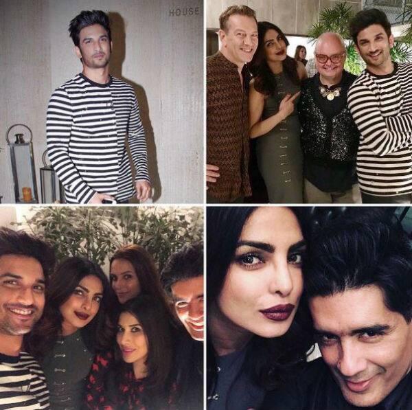 Priyanka Chopra parties hard with Sushant and it's got us damn suspicious – view INSIDE pics