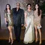 Golden girls Jhanvi Kapoor and Khushi Kapoor make heads turn at Manish Malhotra's 50th birthday bash - view HQ pics