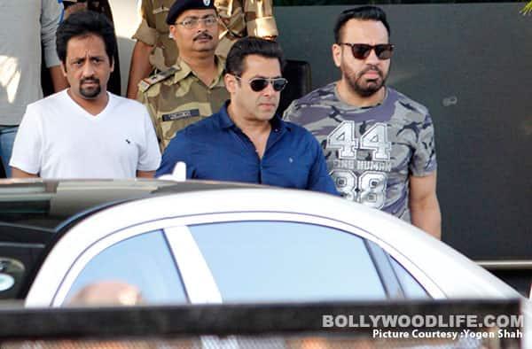 Salman Khan returns to Mumbai after pleading innocent in the blackbuck poaching case – view HQ pics