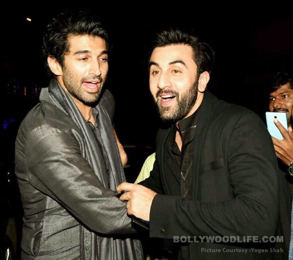 Did Aditya Roy Kapur meet Ranbir Kapoor to clarify his linkup with Katrina Kaif? View HQ pics