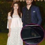 Lovebirds Alia Bhatt and Sidharth Malhotra arrive at a wedding reception together - view HQ pics