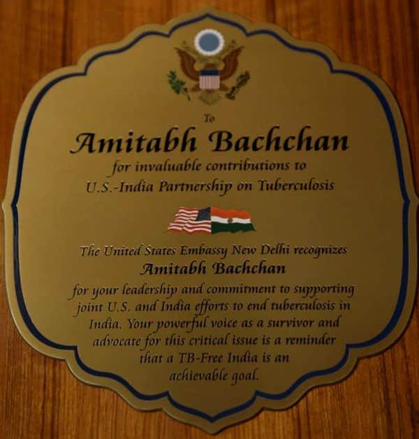 Amitabh Bachchan award