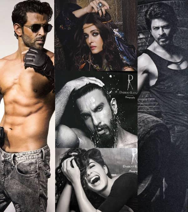 Ranveer, SRK, Hrithik, Jacqueline, Aishwarya – 5 best shots from the Dabboo Ratnani 2017 Calendar – view pics