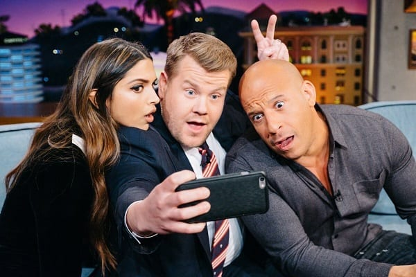 Deepika Padukone and Vin Diesel bring the house down on The Late Late Show – view ALL pics