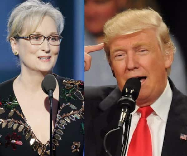 Did Donald Trump just contradict himself by calling Meryl Streep an over-rated actress?