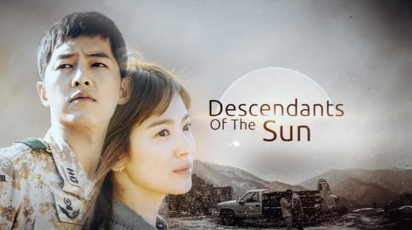 Image result for descendant of the sun poster