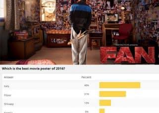 Shah Rukh Khan's FAN poster better than Ajay Devgn's Shivaay, Sonam Kapoor's Neerja - view poll results