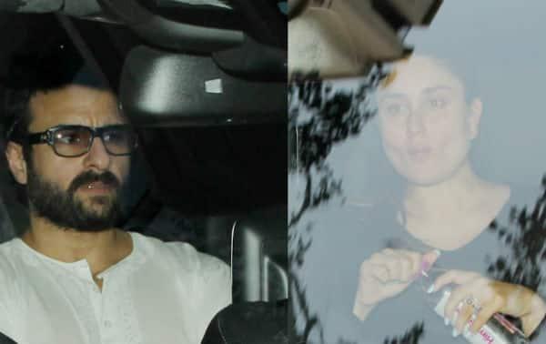Why so tensed Kareena and Saif Ali Khan? View HQ pics