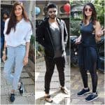 Arjun Kapoor, Athiya Shetty, Ileana D'Cruz spotted at dance rehearsals of Mubarkan - view HQ pics