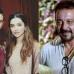 What was Sanjay Dutt doing on the sets of Ranveer-Deepika's Padmavati?