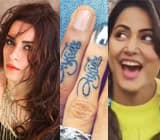 Hina Khan's Game of Thrones moment, Ekta Kaul's sexy photoshoot, Kishwer Merchantt-Suyyash Rai's couple tattoo – TV Insta this week
