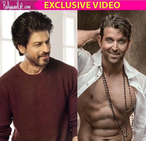 Hrithik Roshan HITS back at team Raees with grace, no mud slinging at Shah Rukh Khan – watch video!