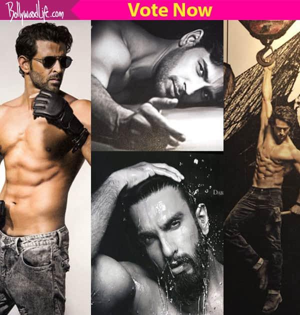 Hrithik Roshan, Sidharth Malhotra, Ranveer Singh or Tiger Shroff – pick the HOTTEST shirtless man in Dabboo Ratnani's 2017 Calendar