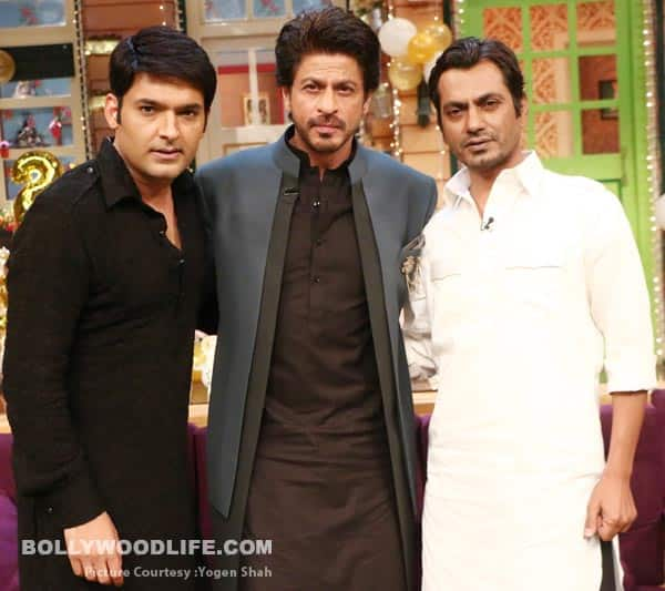Shah Rukh khan and Nawazuddin Siddiqui have a whale of a time promoting Raees on The Kapil Sharma Show – view HQ pics