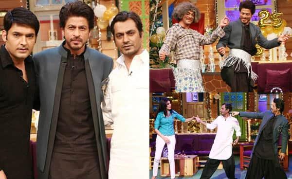 The Kapil Sharma Show: Shah Rukh Khan, Nawazuddin Siddiqui and Sunil Grover bring the house down with their antics