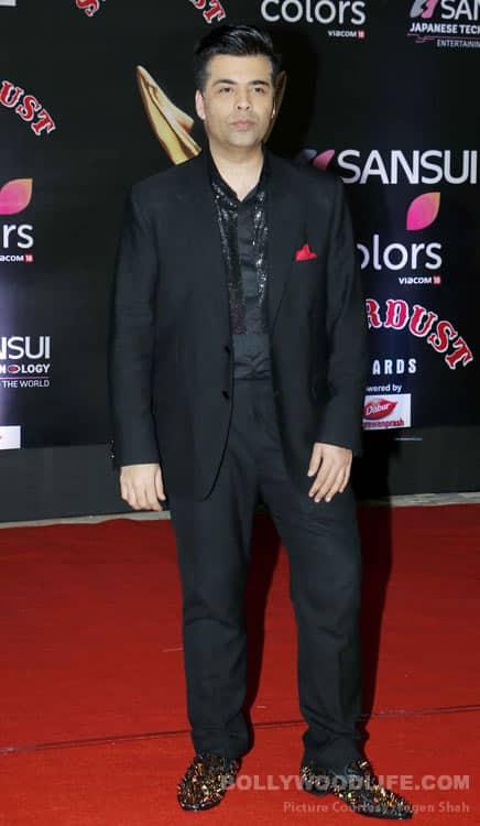 Karan Johar stardust awards