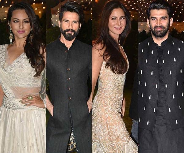 Katrina Kaif Aditya Roy Kapur Sonakshi Sinha Shahid Kapoor Dazzle