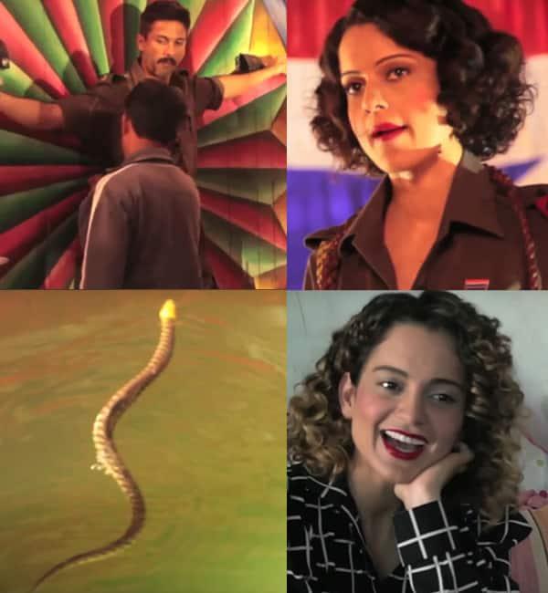 Rangoon song Bloody Hell making: Kangana Ranaut braves cheetahs and snakes to put up a sizzling act – watch video