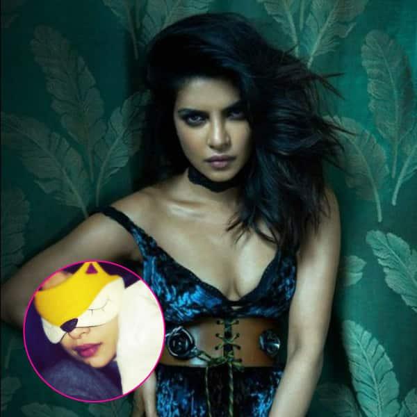 Foxy Priyanka Chopra steals a nap on her way to People's Choice Awards – view pics