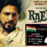 BJP leader calls Shah Rukh Khan dishonest and anti-national; trolls Raees in his Twitter post