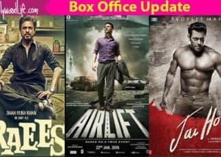 Shah Rukh Khan's Raees beats Akshay Kumar's Airlift and Salman Khan's Jai Ho to become the highest opener for a Republic day weekend