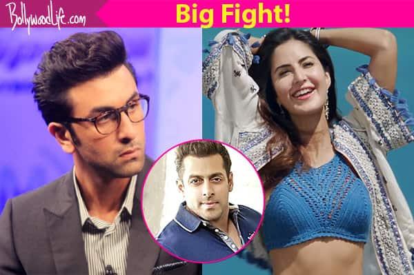 Salman Khan meet Katrina Kaif on the set of Jagga Jasoos, Ranbir Kapoor waited in van