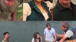 Shahid Kapoor, Kangana Ranaut battle cold to recreate Rangoon in Arunachal Pradesh – watch video