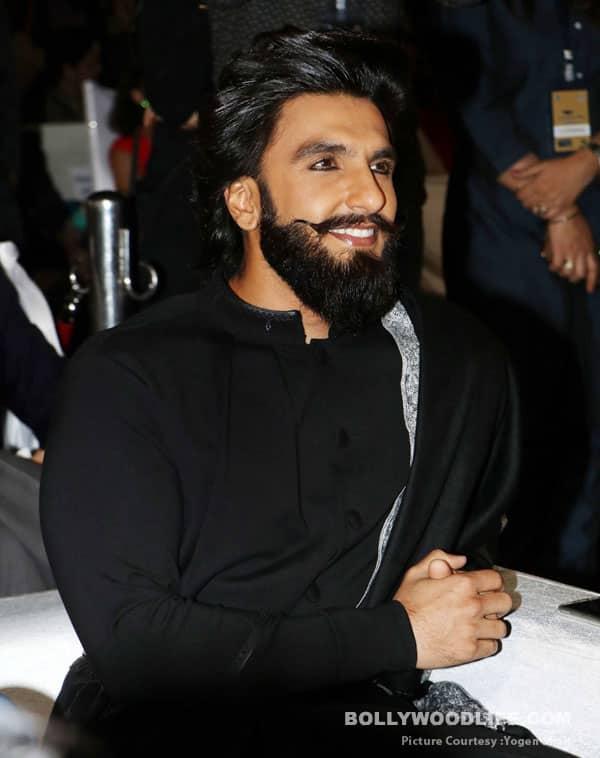 Ranveer Singh wearing Kohl
