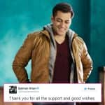 Salman Khan thanks fans for their support, post his acquittal in the Arms Act case