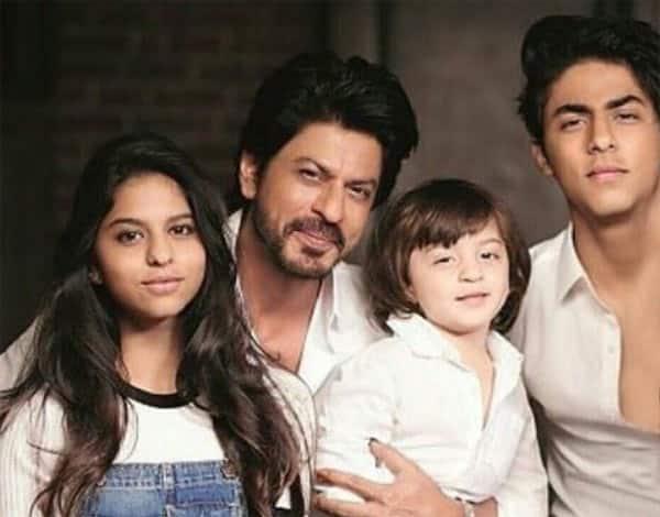 Shah Rukh Khan's La La Land has AbRam, Aryan and Suhana in it