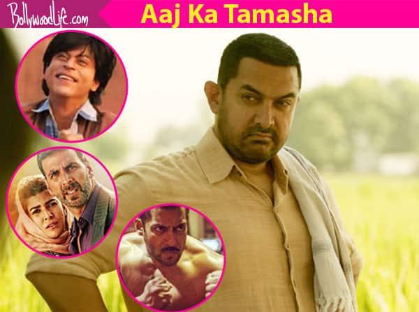 Here's how we imagine Salman Khan's Sultan and Shah Rukh Khan's FAN would react to the super success of Aamir Khan's Dangal