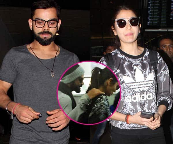 Virat Kohli bids adieu to ladylove Anushka Sharma in the cutest possible way – view pics