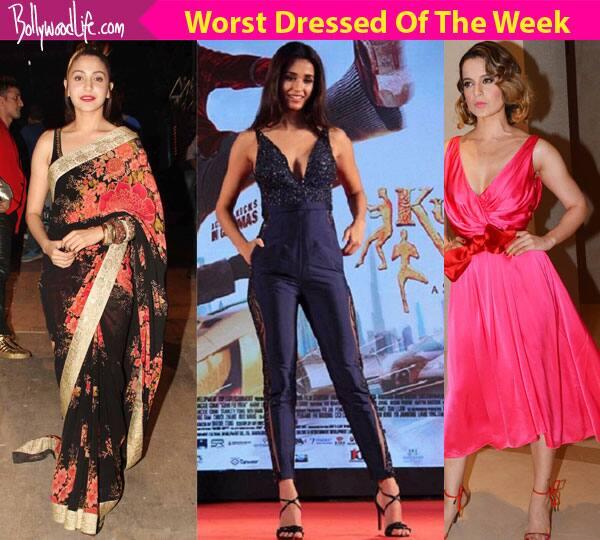 Kangana Ranaut, Disha Patani, Anushka Sharma – meet the WORST dressed celebs this week